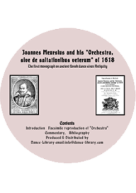 "Joannnes Meursius and his ""Orchestra""-CD"